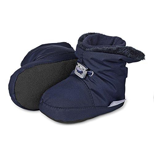 Sterntaler Schuh, Baby Jungen Krabbelschuhe, Blau (marine 300), 21/22 (Schuhe Jungen Baby)