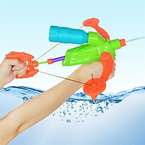 LOPDA Neue Ankunft Armbrust Druck Pumpe Große Wasser Pistole Spielzeug Outdoor Kunststoff Wasser Pistole Spielzeug Für Kinder Sommer Beregnung Wasser Spaß Spielzeug