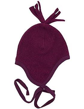 Baby Mütze Fleece, 100% Merinowolle, 3 Farben