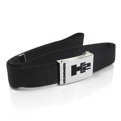 hummer-h2-logo-brushed-silver-metal-buckle-belt