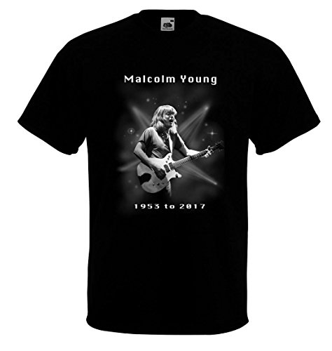 art2tshirt Malcolm Young tribute t-shirt Rip 1953-2017 Guitarist and songwriter