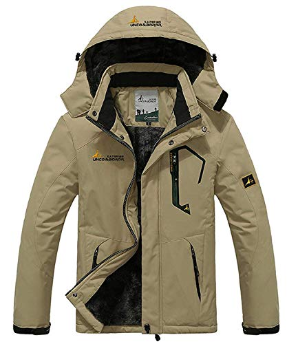 Memoryee Chaqueta Impermeable Hombres Chaqueta