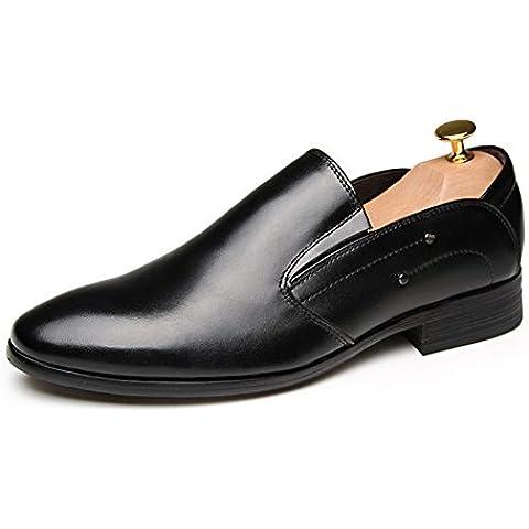 Zapatos de hombre/ zapatos de primavera y otoño de los hombres/zapatos de vestir casual de negocios señalaron/ zapatos de cuero de los