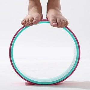 VIO Yoga Wheel Fitness Körper Umwelt Pilates Assist,Yoga-Rad,Einheitsgröße