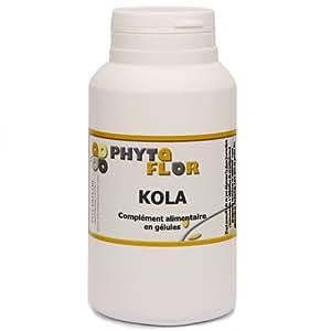 KOLA (noix) Phytaflor 280 mg en gélules. - . : 1 boite de 50 gélules