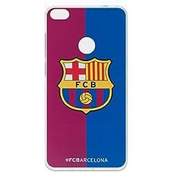 Carcasa Oficial FC. Barcelona Bicolor Huawei P8 Lite 2017