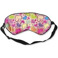 Colorful Heart Love Sleep Eyes Masks - Comfortable Sleeping Mask Eye Cover For Travelling Night Noon Nap Mediation... preisvergleich bei billige-tabletten.eu