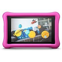 Amazon FreeTime - Funda infantil para Fire HD 8 (tablet de 8 pulgadas, 7ª generación, modelo de 2017), Rosa