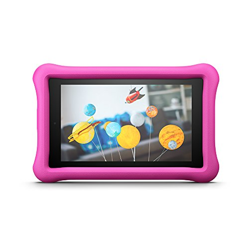 7 Kinder Tablet Zoll (Kindgerechte Amazon FreeTime-Hülle für Fire 7 (7-Zoll-Tablet, 7. Generation - 2017), Pink)