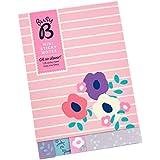Busy B Lot de 120 Post-it très utiles déclinés en six motif floral