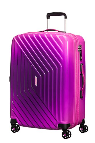 American Tourister - Air Force 1 Spinner 66/28 Espandibile 69/81L - 3.6 KG, Rosa (Gradient Pink)
