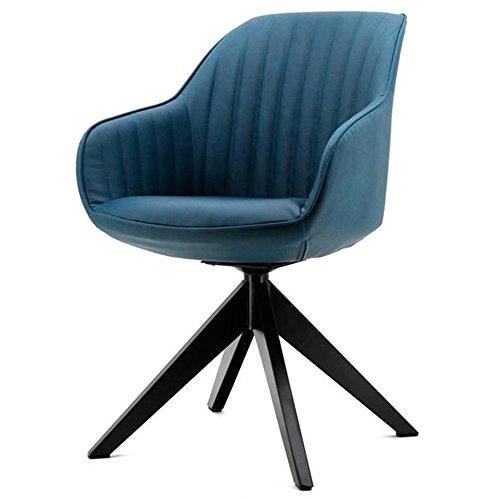 Esszimmerstuhl JULES blau Stuhl Konferenzstuhl Küchenstuhl Dinnerstuhl