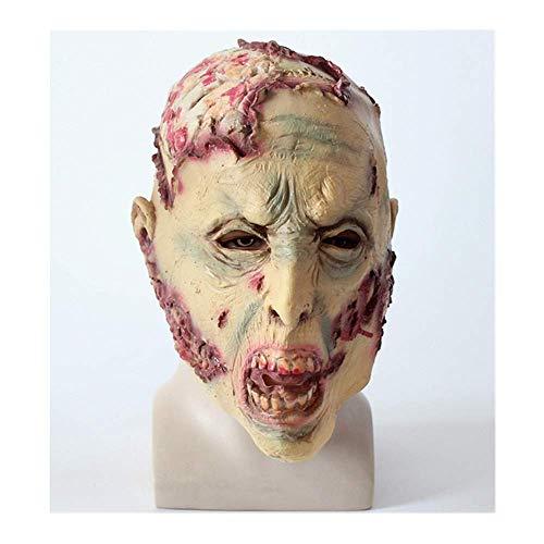 Kostüm Knochen Durch Kopf - Bnmgh Gebrochene Köpfe der Zombies Terror Horror Maske Scary Kostüme Cosplay für Neuheit Haunted House Party Halloween Dekoration