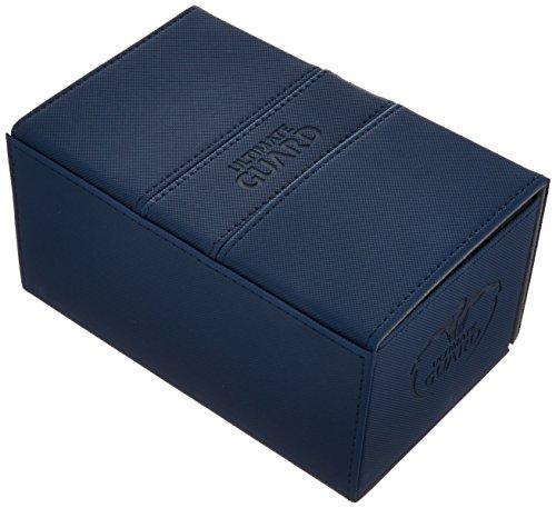 Ultimate Guard UGD010649 Twin Flip´n´Tray Deck Case 160+ Standardgröße XenoSkin Blau (Twin Deck Case)