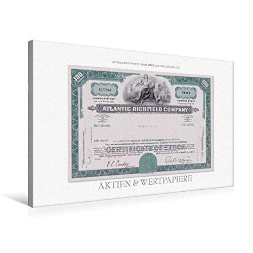 Premium Textil-Leinwand 75 cm x 50 cm quer, Ein Motiv aus dem Kalender Aktien & Wertpapiere | Wandbild, Bild auf Keilrahmen, Fertigbild auf echter Leinwand, Leinwanddruck (CALVENDO Wissen) (Kalender Unternehmen)