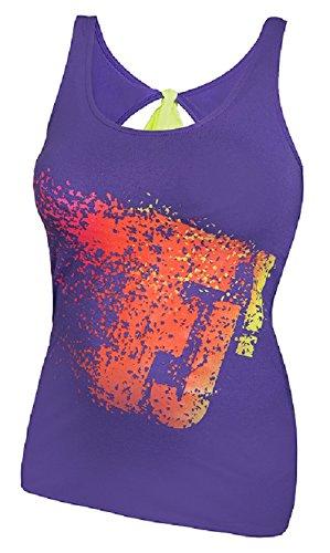 FeelJ! Damen Top Bow, Violet, 1, FJ5902349672199 (Step Dance Kostüme)