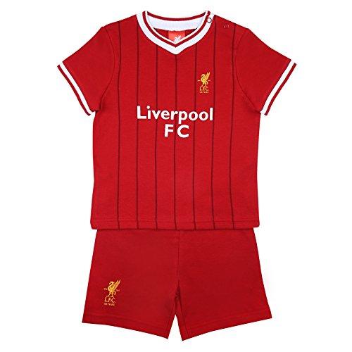 Liverpool FC Conjunto Oficial Pantalón Corto Camiseta