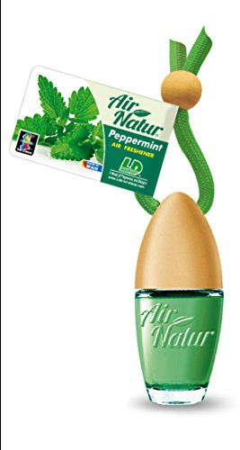 Stylisch-modisches Air Natur Little Bottle Duftflakon Lufterfrischer Auto- und Raumduft 6ml - Duftsorte Peppermint - Pfefferminze