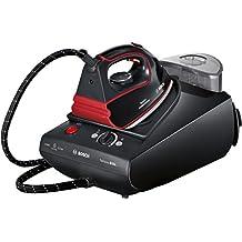Bosch Sensixx B35L - Centro de planchado, 3100 W, color negro y rojo