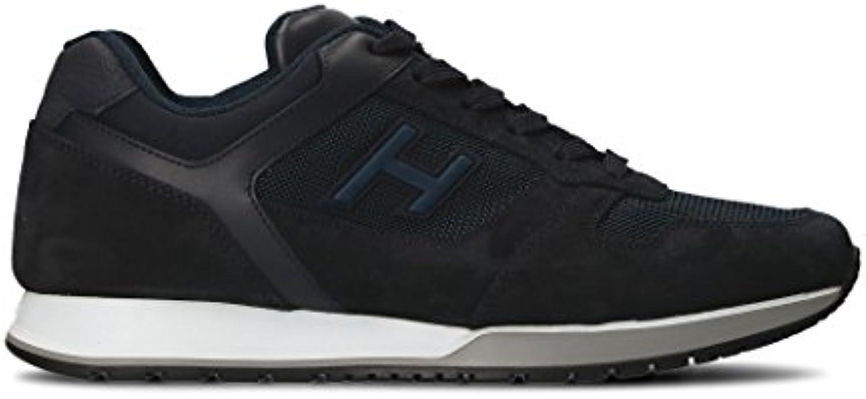 Hogan Herren HXM3210Y861II5961R Schwarz Leder Sneakers