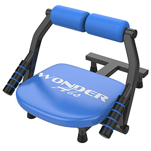 DEWUFAFA Sit-ups Fitness-Ausrüstung, Männer Und Frauen Sport Supine Board - Start Multifunktions Bauch Maschine Bauchmuskeln Brett Gewicht Bench (Color : Blue)