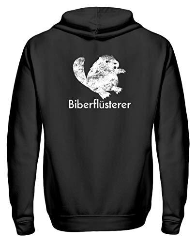 Chorchester Biberflüsterer Für Alle Biber Fans - Zip-Hoodie ()