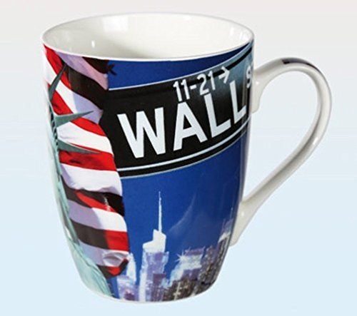 Objektkult Tasse New York Wall Street -