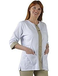 Label Blouse - Bata de Laboratorio - Mujer