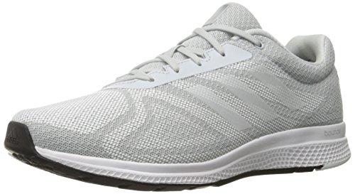 Adidas Performance Mana Bounce Running Shoe, noir / vert choc / soleil Glow Jaune, 5 M Us Gris / Blanc / Noir (Clear Grey S12 / White / Black)
