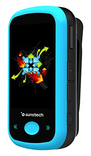 Sunstech ibizabt4gbbl–MP4-Player, Blau Grabadora De Audio Y Video
