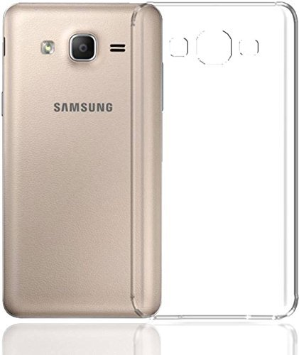 Samsung Galaxy E7 Transparent Back Cover, Anti Slip Protection Silicone Case for Samsung Galaxy E7 by Youberry  available at amazon for Rs.119