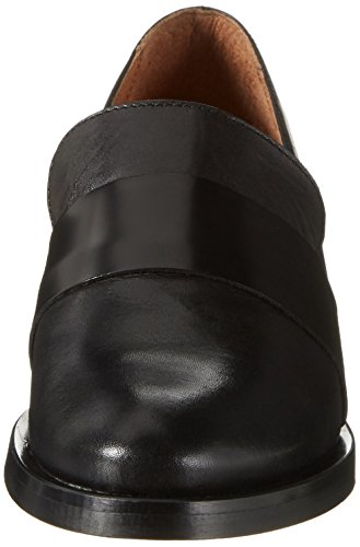 Bianco Divided Loafer Jfm17, Mocassins Femme Noir