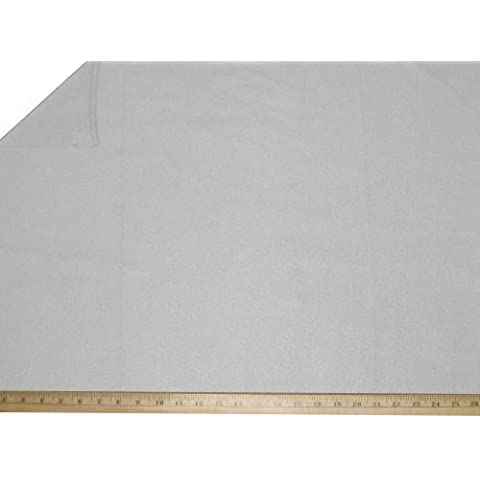 "LA Linen â""¢ Polar Fleece by the yard 58/60-Inches Wide, White by LA Linen"
