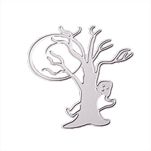 en Metall Schneiden stirbt Schablonen Scrapbooking Prägung DIY Handwerk (B) (Hausgemachte Halloween-dekoration Für Kinder)
