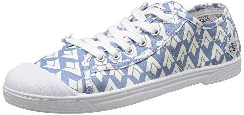 Le Temps des Cerises Ltc Basic 02 - Sneaker Donna Blu (Diamond Blue)