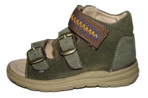 Juge - 31.2101. chaussures mixte enfant Olive (dark olive/sand)
