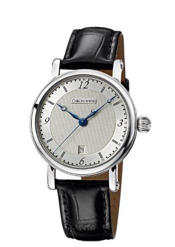 chronoswiss-sirius-hommes-de-montre-automatique-avec-cadran-argente-affichage-analogique-et-sangle-2