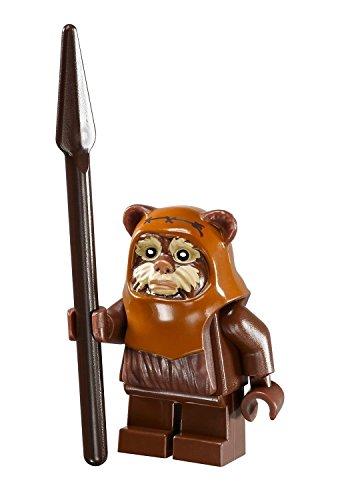 LEGO Star Wars Ewok Wicket minifigure with spear from Ewok Village (10236) by LEGO