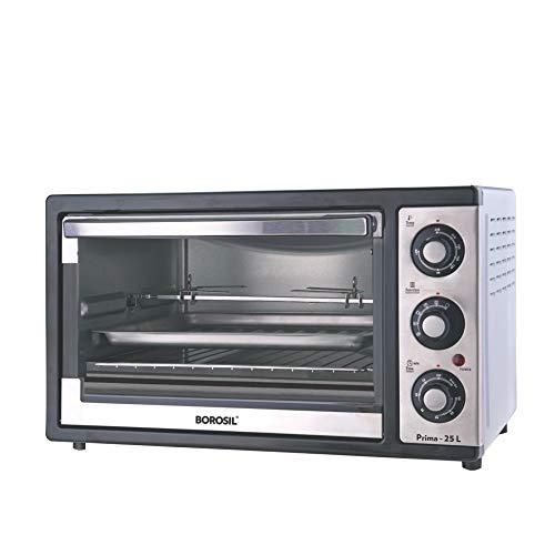 Borosil Prima BOTG25CRS12 25-Litre Oven Toaster Grill (Black)