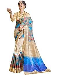 Samskruti Sarees Raw Silk Saree (Sleesa-125_Beige)