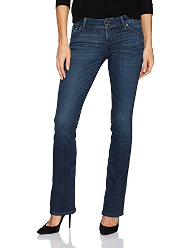Hudson Jeans Women's Beth Petite Baby Boot Flap Pocket Jean, Spellbound, 29 (Flap Pocket Hudson)