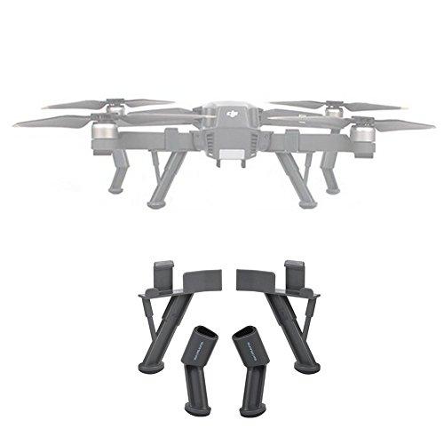 Hensych® Fahrwerke für DJI Mavic Pro Platinum, Upgraded Heightened Landing Legs Skids für DJI Mavic Pro Alpine White