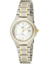 MC Timetrend Damen-Armbanduhr Analog Quarz komplett Titan 18285