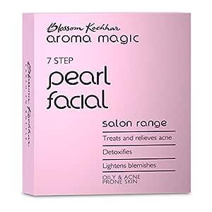 Aroma Magic Pearl Facial Kit - Single Use, Natural, 5.43 g (Pack of 7)