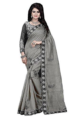 Arawins Bhagalpuri Silk Saree With Blouse Piece (Mgy100Sr_Pink_Free Size)