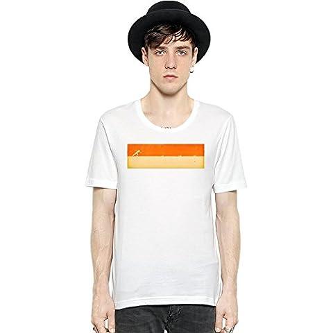 Falling Down Short Sleeve Mens T-shirt