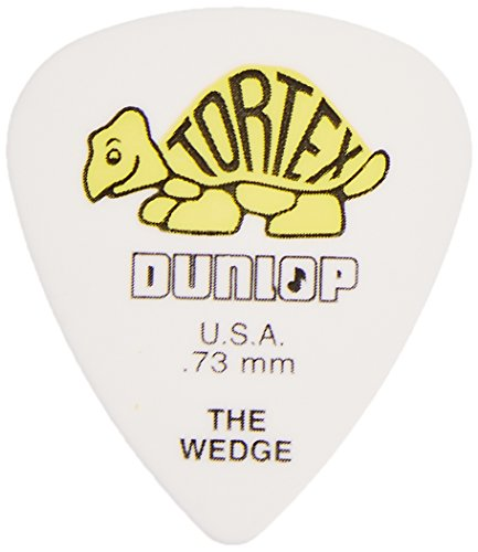 DUNLOP 424 PúAS TORTEX WEDGE PLAYERS BIG PACK AMARILLAS 0 73 MM