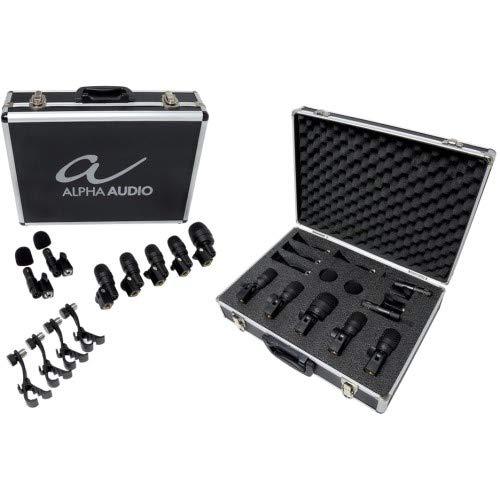 Alpha Audio Mic Drumbox 7 Schlagzeug Mikrofon-Set (Mikrofon-schlagzeug-set)