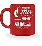 Oma Nein Lustiges T-Shirt Geschenk 2018 | Geburtstag Oma Opa | Großmutter Senioren Shirt - Tasse