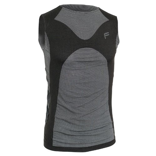 F-lite Herren Body Ultralight 70 Tanktop Man, Black, L, 13-2102-8-2-0002 (2x22 Shirt 24)